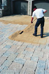 Polymeric Sand Application