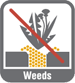 No Weeds Icon